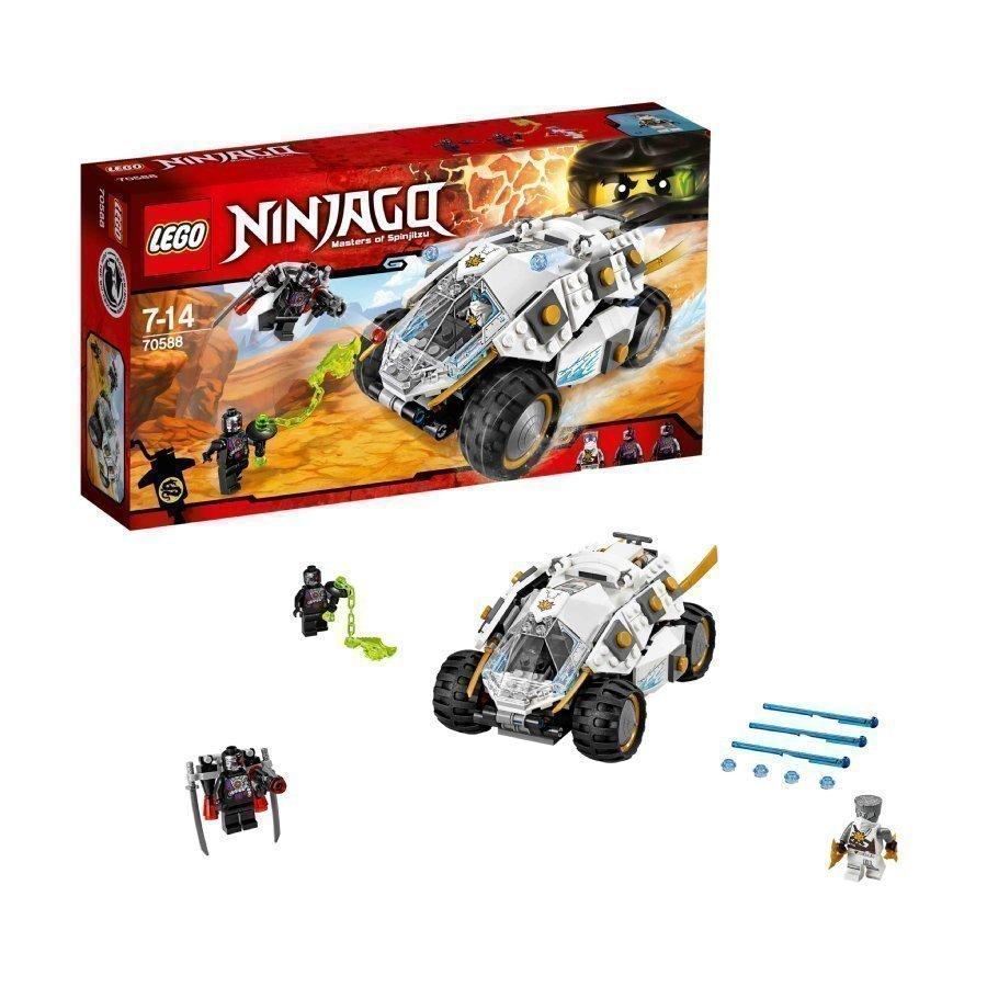 Lego Ninjago Titaanininjan Tumbler 70588