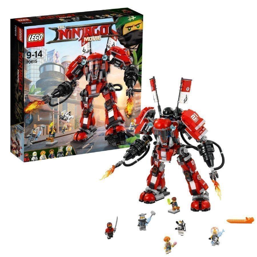 Lego Ninjago Tulirobotti 70615