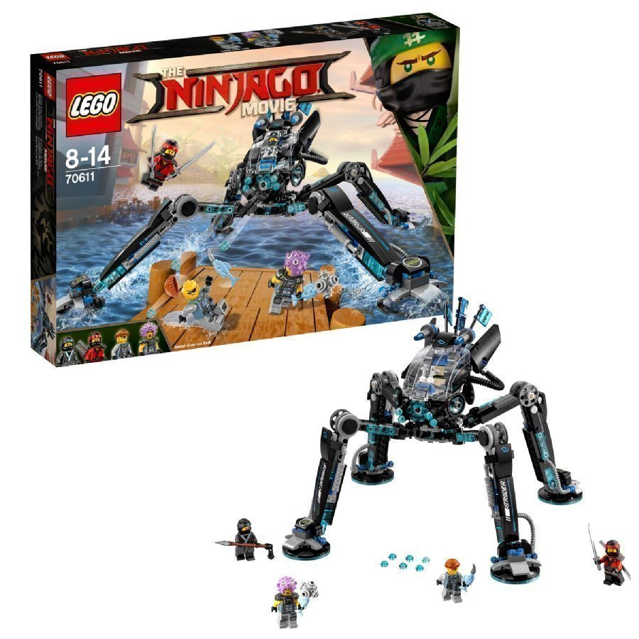Lego Ninjago Vesiharppoja 70611