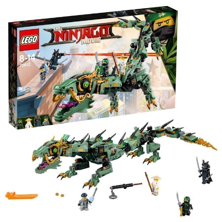 Lego Ninjago Vihreän Ninjan Robottilohikäärme 70612