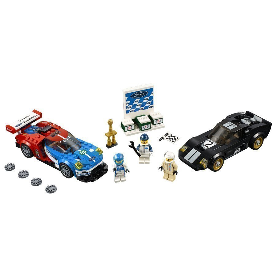 Lego Speed Champions 2016 Ford Gt & 1966 Ford Gt40 75881