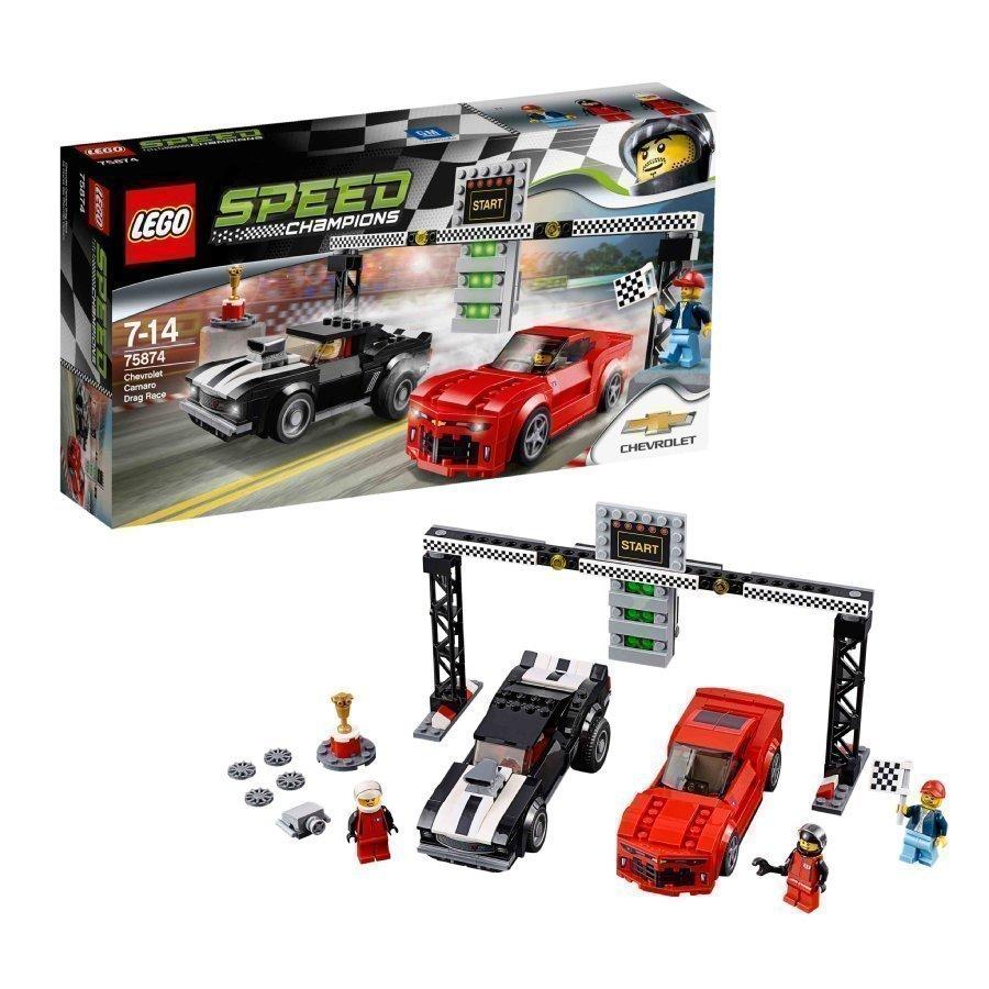 Lego Speed Champions Chevrolet Camaro Kiihdytysauto 75874