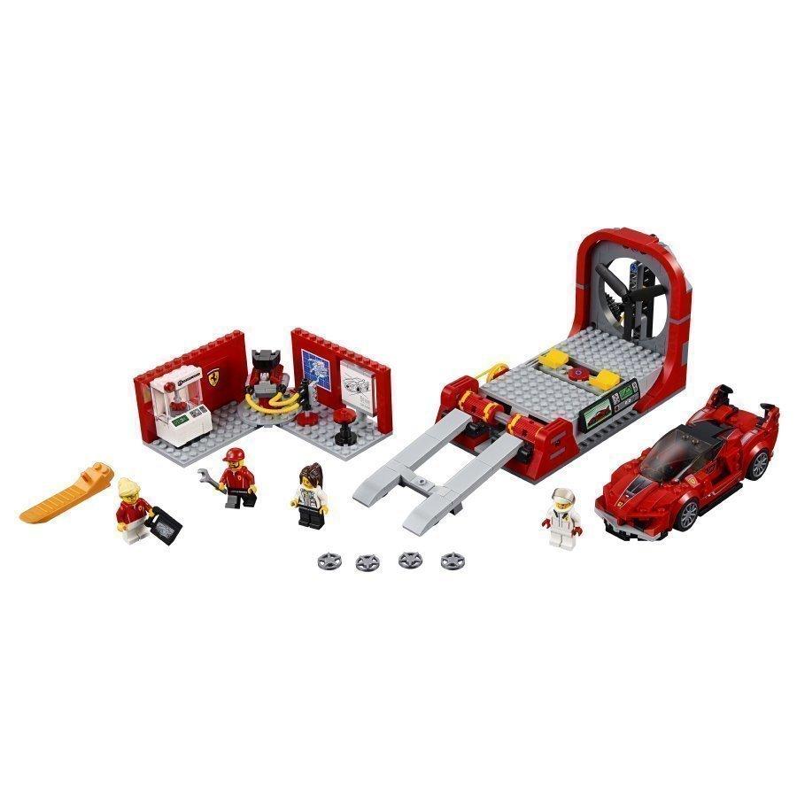 Lego Speed Champions Ferrari Fxx K Ja Kehityskeskus 75882