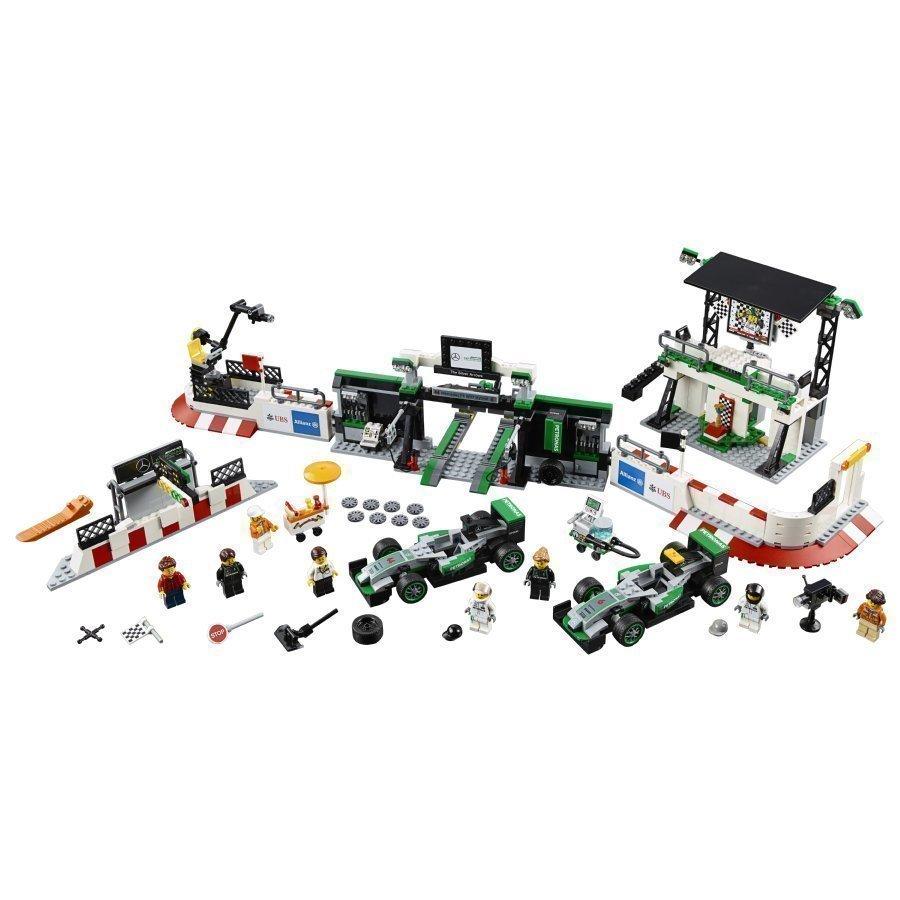 Lego Speed Champions Mercedes Amg Petronas Formula One Team 75883