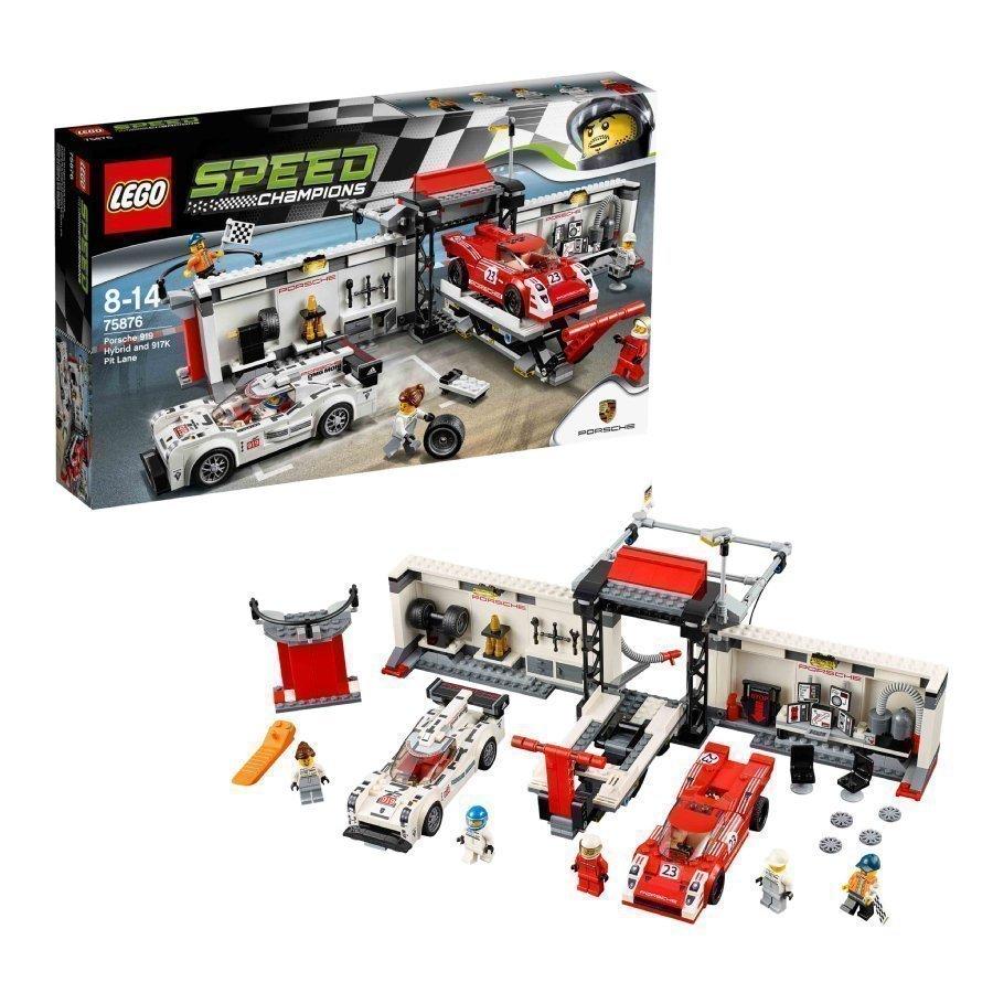 Lego Speed Champions Porsche 919 Hybrid Ja 917k Varikkokaista 75876