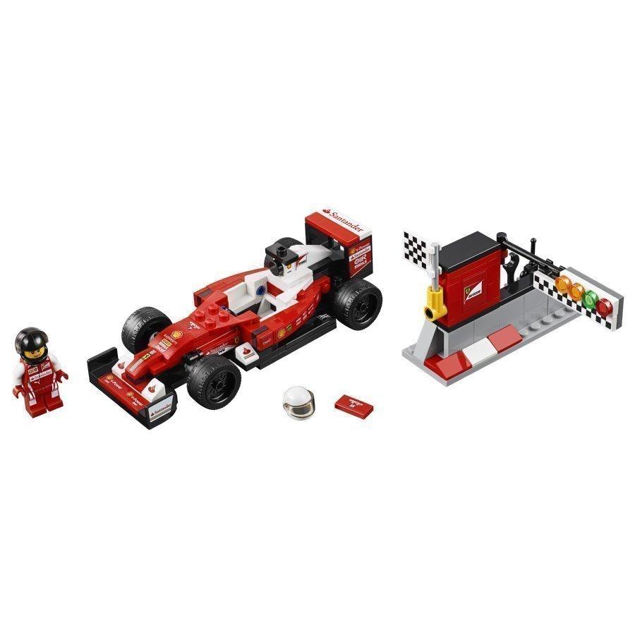Lego Speed Champions Scuderia Ferrari Sf16 H 75879