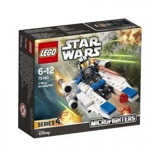 Lego Star Wars 75160 U Siipinen Mikrohävittäjä