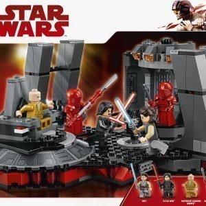 Lego Star Wars 75216 Snoken Valtaistuinsali