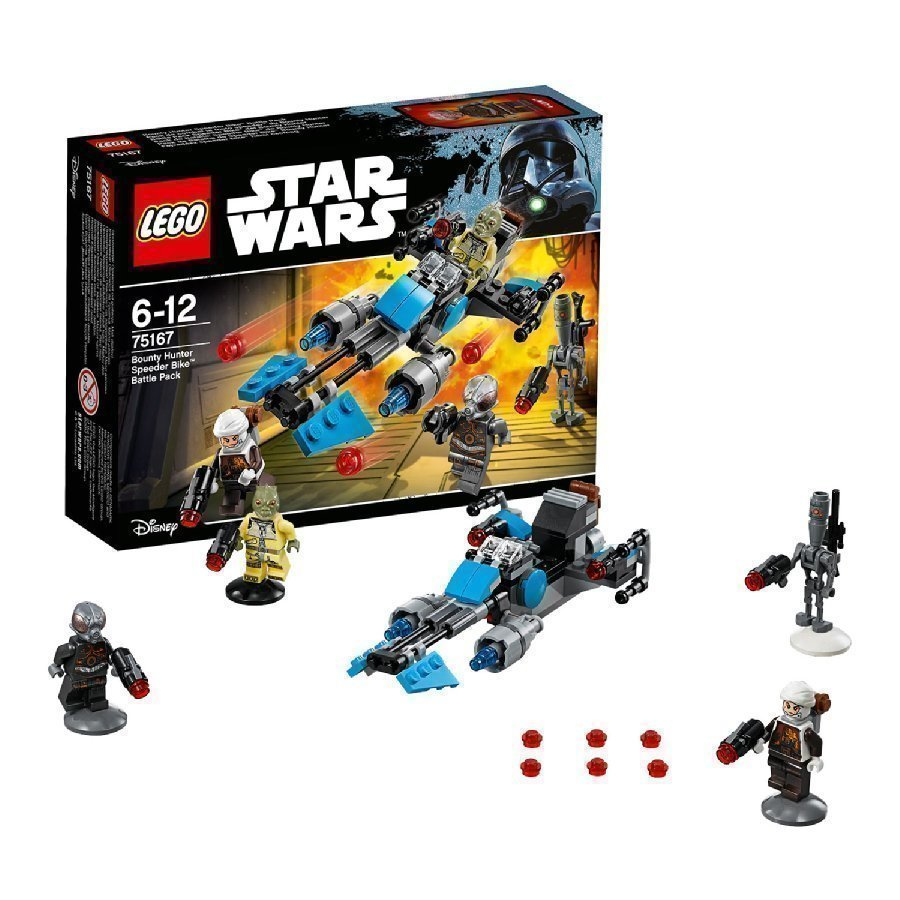 Lego Star Wars Bounty Hunter Speeder Bike Battle Packs 75167