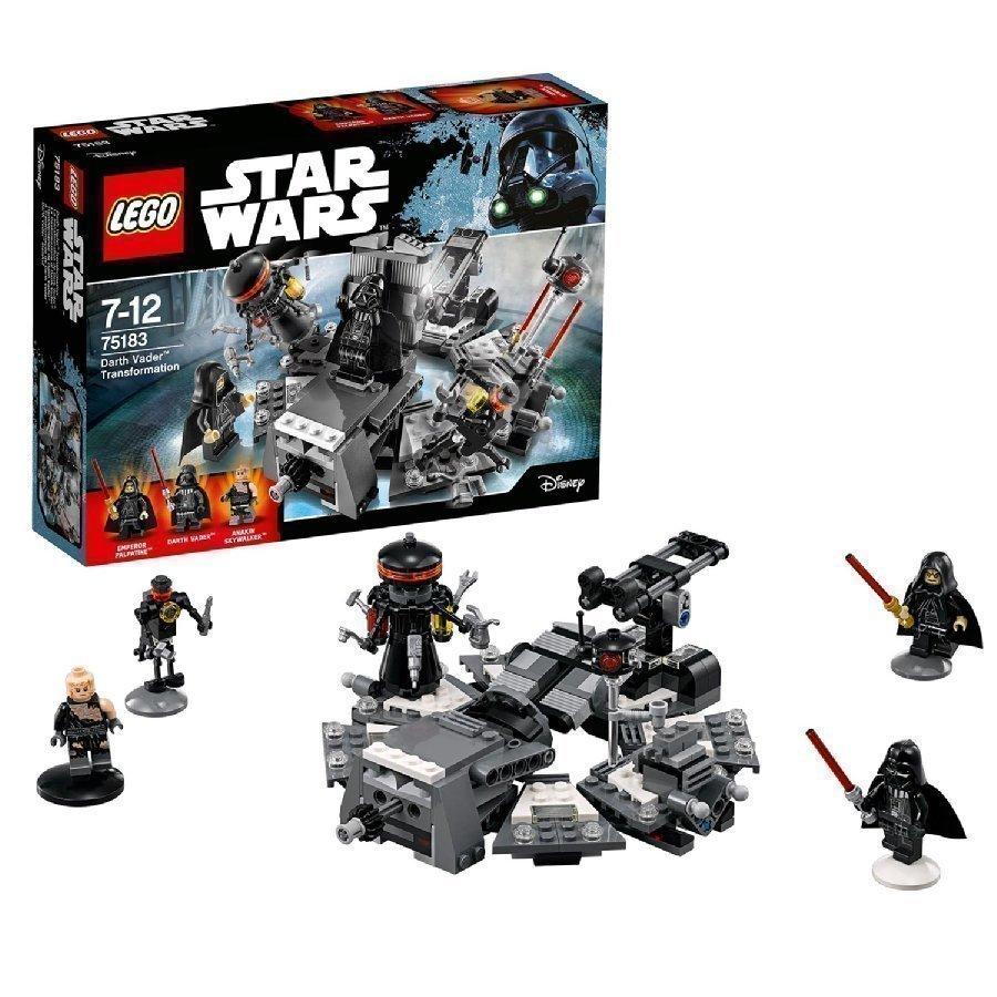 Lego Star Wars Darth Vaderin Muodonmuutos 75183