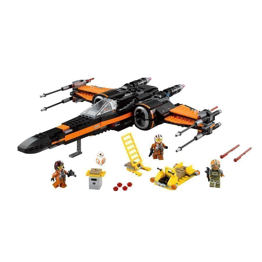 Lego Star Wars Poe's X Wing Fighter 75102