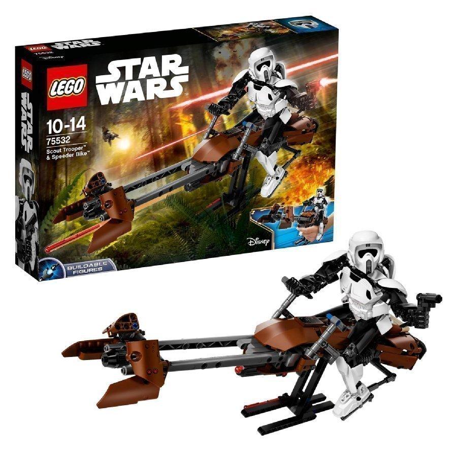 Lego Star Wars Tiedustelusotilas Ja Kiituripyörä 75532