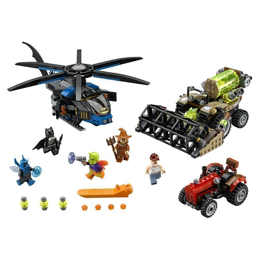 Lego Super Heroes Batman Linnunpelättimen Kauhusato 76054