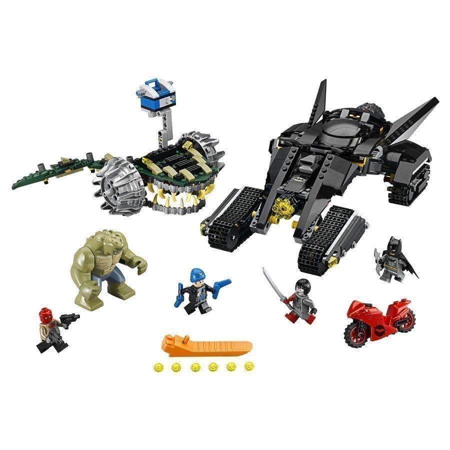 Lego Super Heroes Batman Tappajakrokon Viemäri Isku 76055