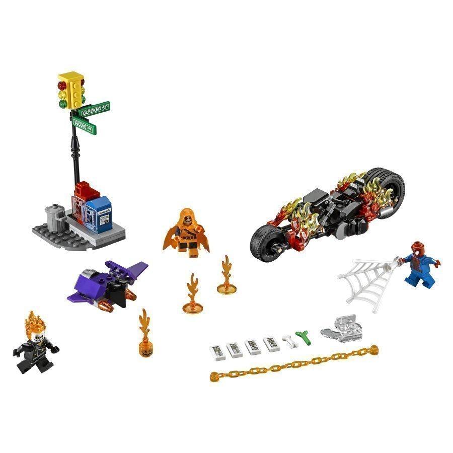 Lego Super Heroes Spider Man Aaveajajan Tiimityö 76058