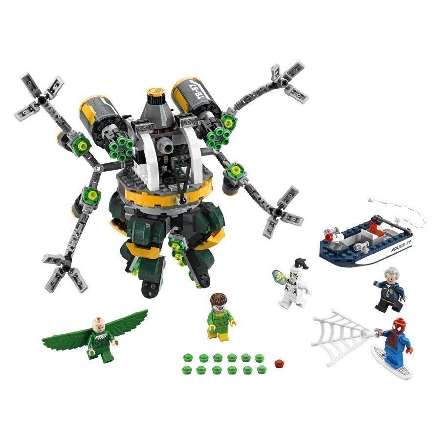Lego Super Heroes Spider Man Tohtori Mustekalan Lonkeroansa 76059