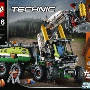 Lego Technic 42080 Metsäkone