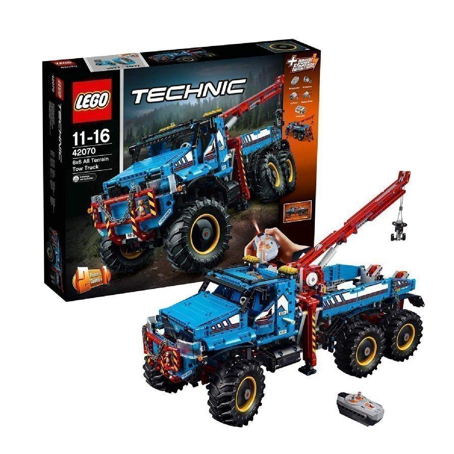 Lego Technic Kuusivetoinen Maastohinausauto 42070