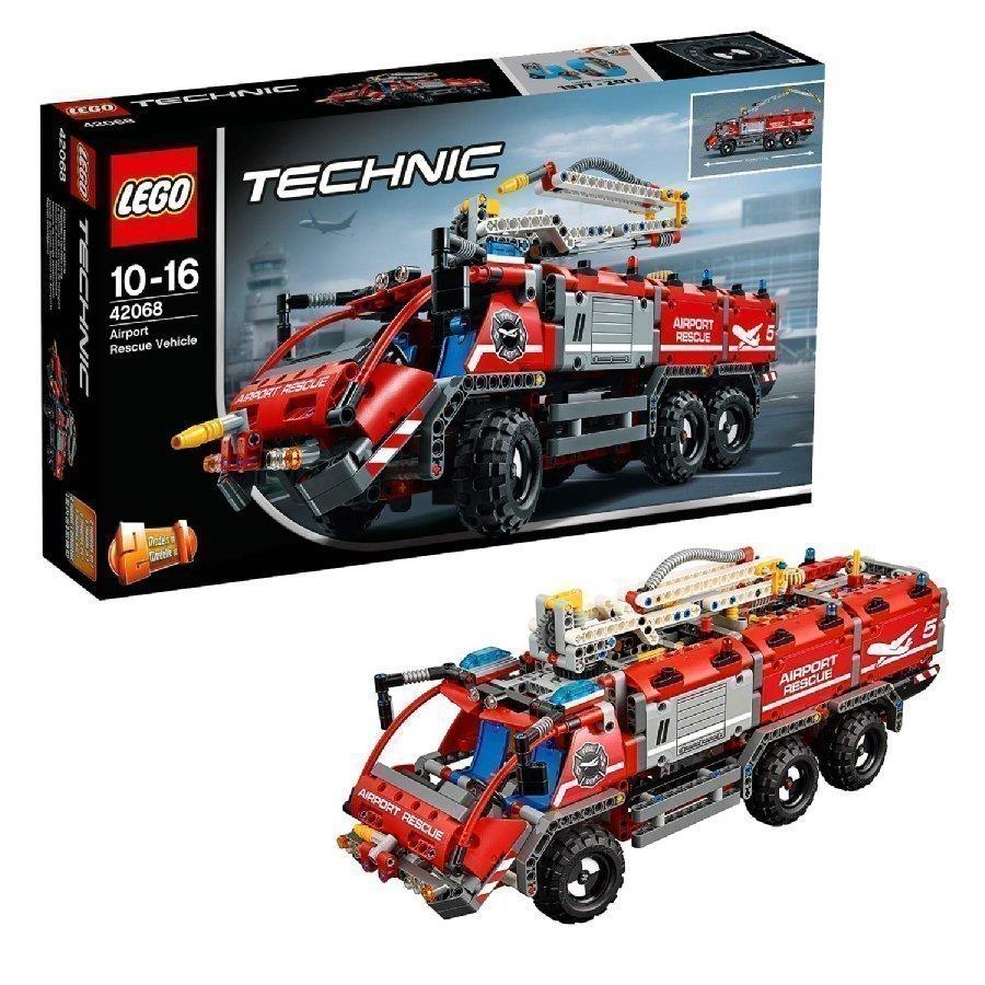Lego Technic Lentokentän Paloauto 42068