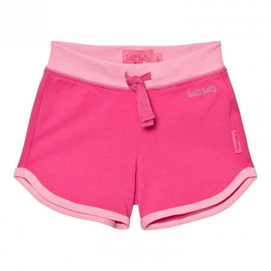 Lelli Kelly Pink Branded Jersey Shorts Oloasun Shortsit