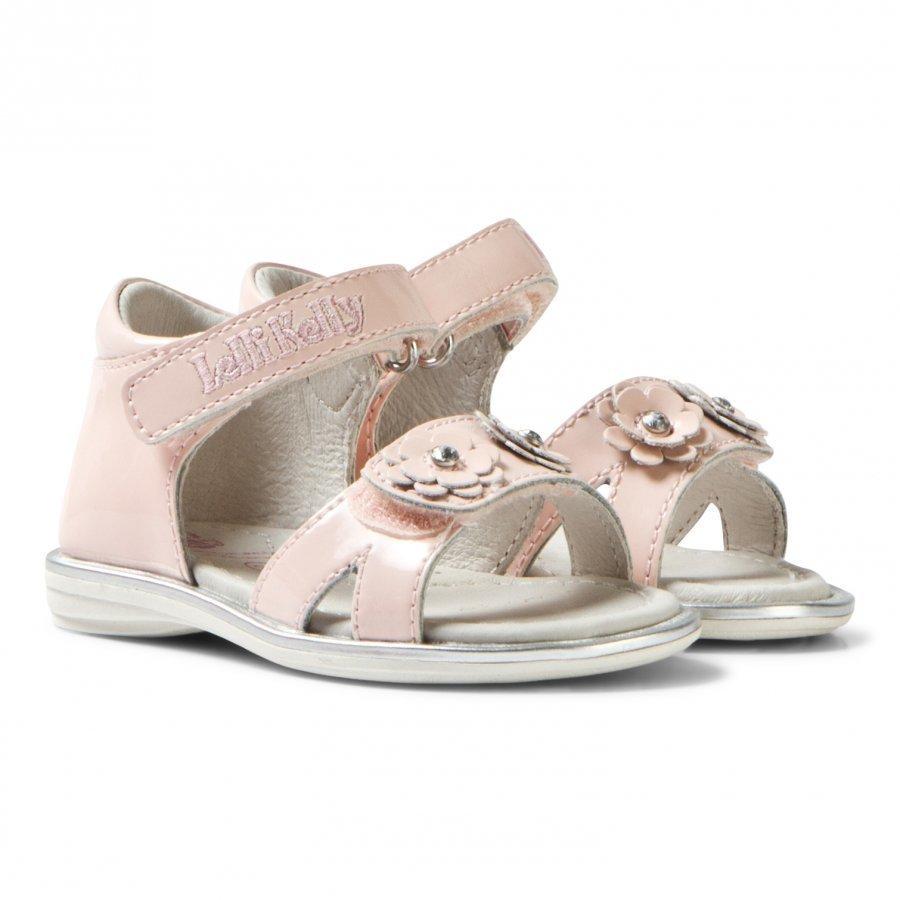 Lelli Kelly Pink Sabrina Floral Sandals Remmisandaalit