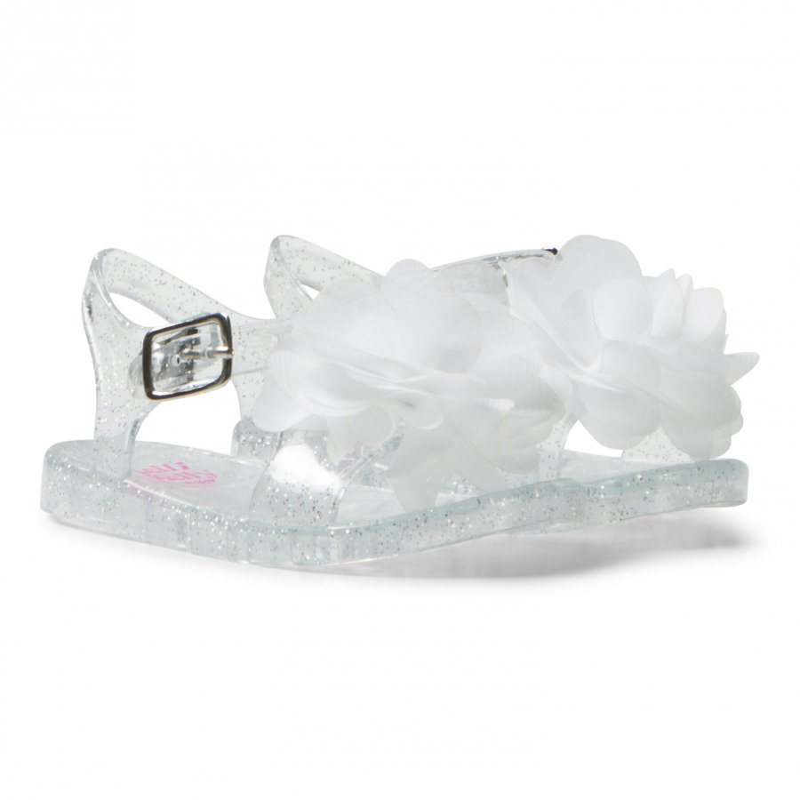 Lelli Kelly Transparent Fiore Flower Jelly Sandals Sandaalit