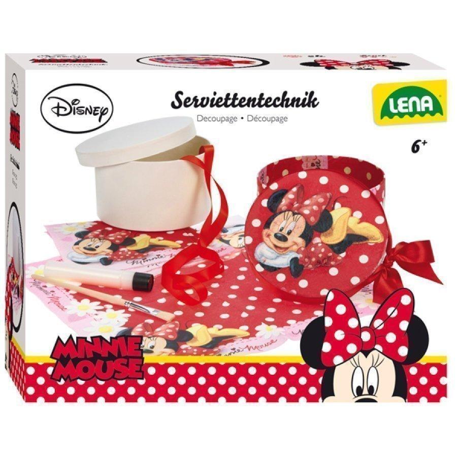 Lena Disney Minni Hiiri Decoupage Koristelusetti