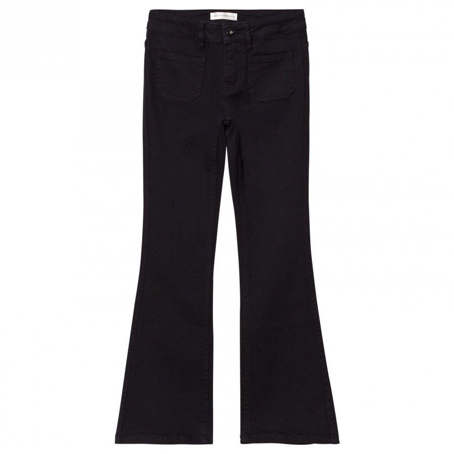 Les Coyotes De Paris Bowie Flare Jeans Black Farkut