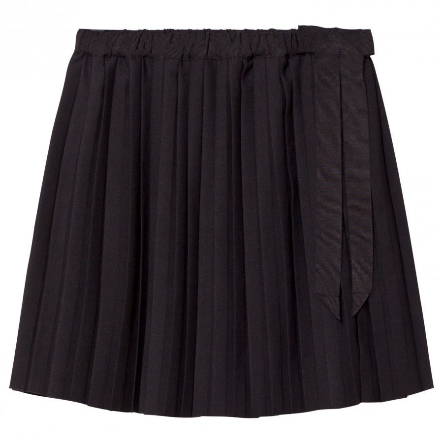 Les Coyotes De Paris Sofia Pleated Skirt Black Kellohame