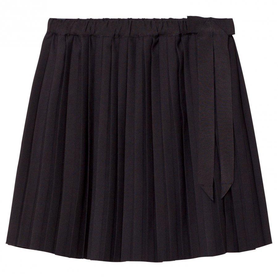 Les Coyotes De Paris Sofia Pleated Skirt Black Kellohame