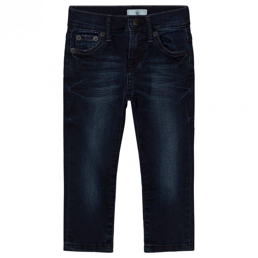 Levis Kids Blue One Wash 510 Skinny Fit Farkut