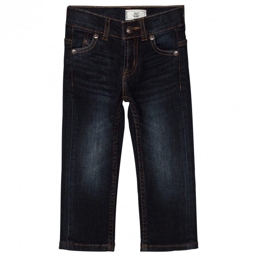 Levis Kids Dark Wash 511 Slim Fit Jeans Farkut