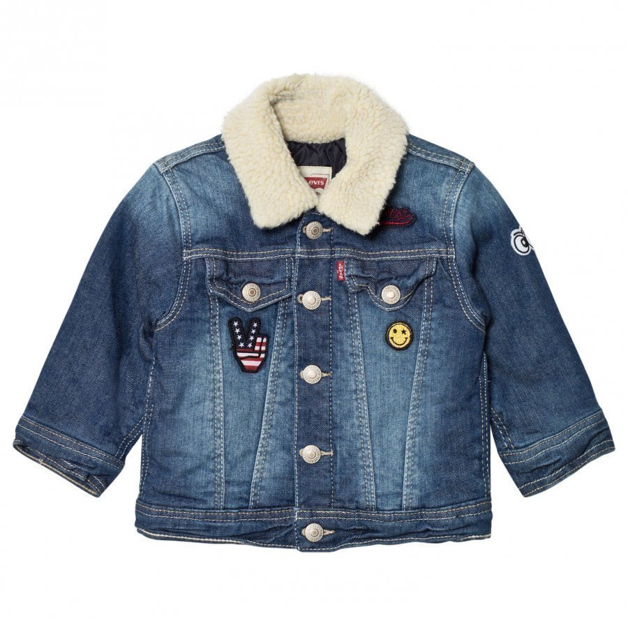 Levis Kids Denim Trucker Jacket Farkkutakki