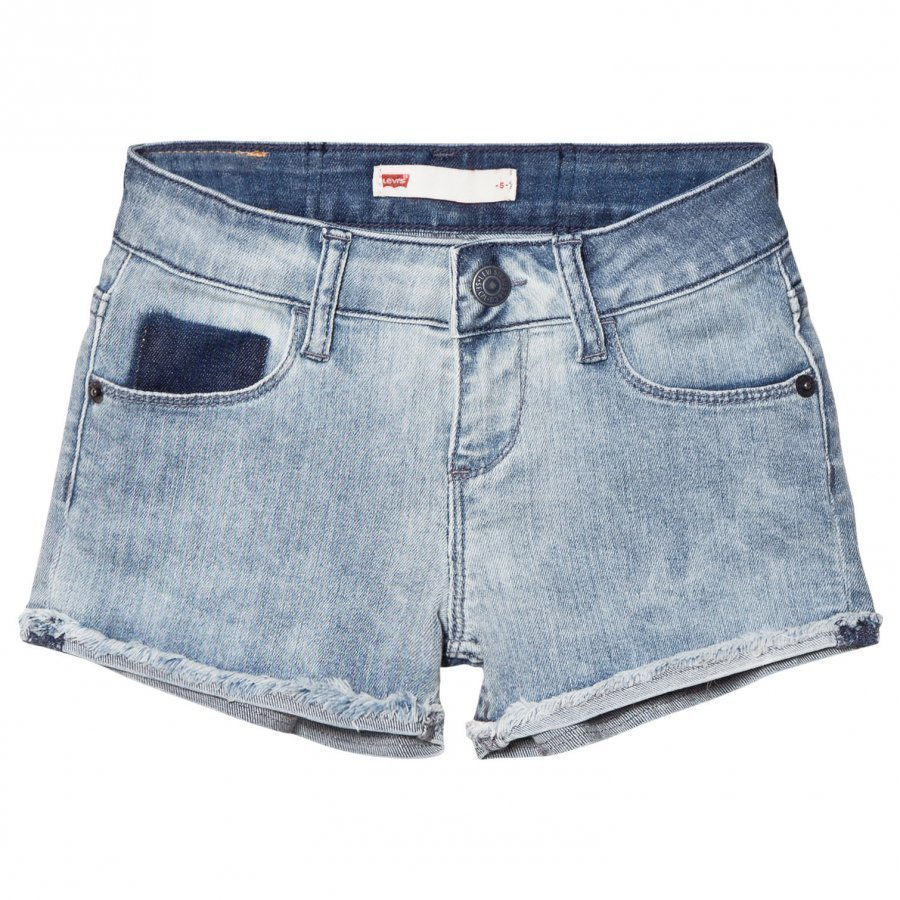 Levis Kids Light Wash Denim Shorts Farkkushortsit