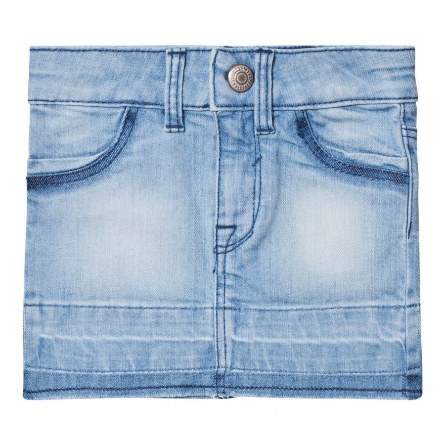 Levis Kids Light Wash Denim Skirt Farkkuhame
