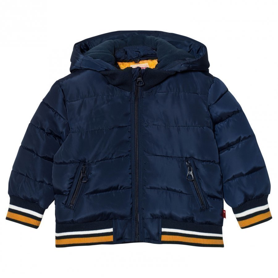 Levis Kids Navy Padded Puffer Coat Toppatakki