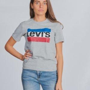Levis Sportswear Logo T-Paita Harmaa