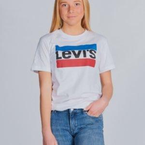 Levis Sportswear Logo T-Paita Valkoinen
