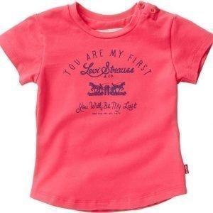 Levi's T-paita Bridget Framboise/Raspberry