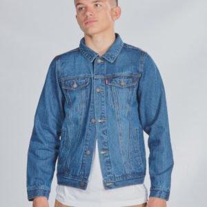 Levis Trucker Jacket Takki Sininen
