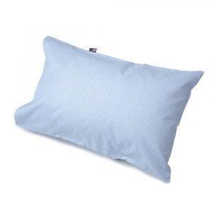 Lexington Baby Pin Point Tyynyliina Sininen / Valkoinen 35x55 Cm