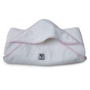 Lexington Baby Pyyheliina Valkoinen / Roosa 100x100 Cm