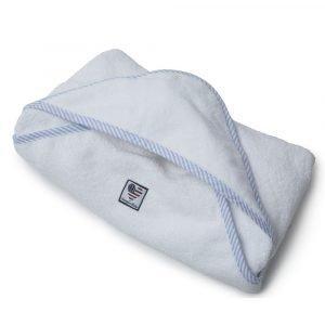 Lexington Baby Pyyheliina Valkoinen / Sininen 100x100 Cm