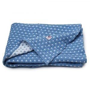 Lexington Baby Star Päiväpeite Sininen / Valkoinen 90x110 Cm