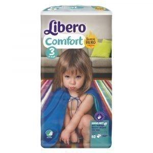 Libero Comfort 3 5-9 Kg Teippivaippa 62 Kpl