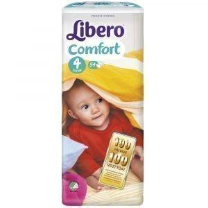 Libero Comfort 4 7-11 Kg Teippivaippa 54 Kpl