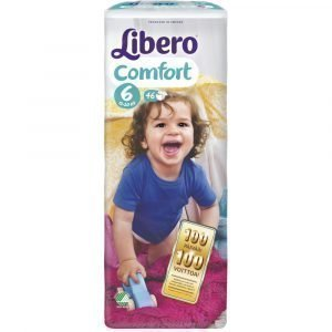 Libero Comfort 6 13-20 Kg Teippivaippa 46 Kpl