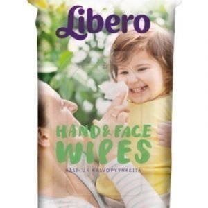 Libero Käsi- ja kasvopyyhkeet 20 kpl