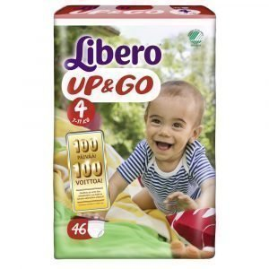 Libero Up & Go 4 7-11 Kg Housuvaippa 46 Kpl