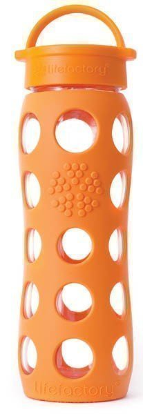 Lifefactory 650 ml Classic juomapullo oranssi